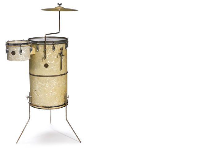 A Papa John Creach 1953 Gretsch Broadkaster Cocktail Drum Set Us 500 700 Au 570 800 Cocktail Drum Kit Drums Drum Kits