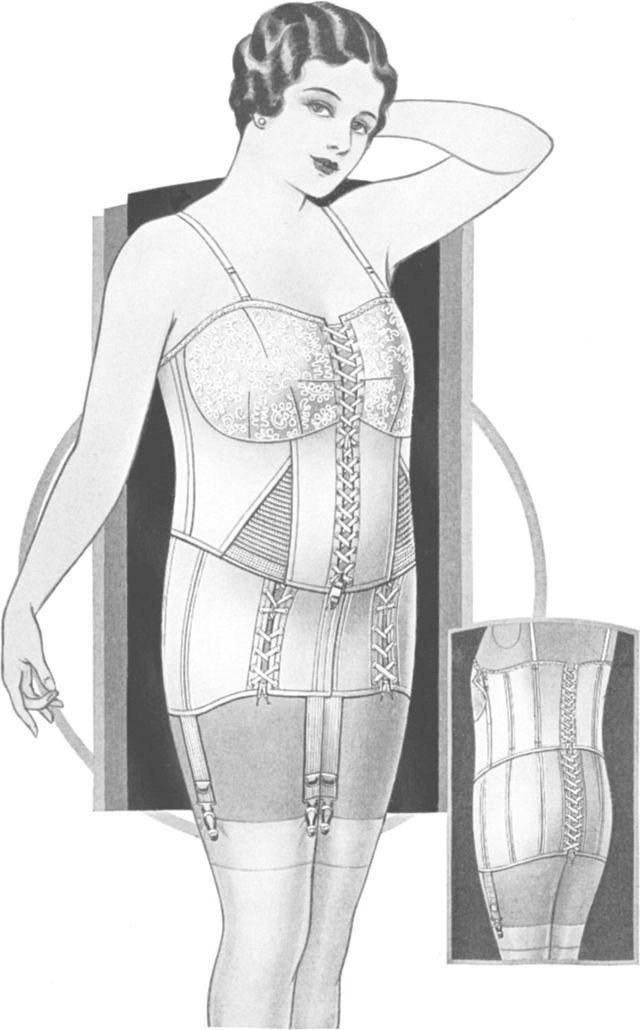 Brassiere Fashion Show, 1933 - Photos - 1930s fashion