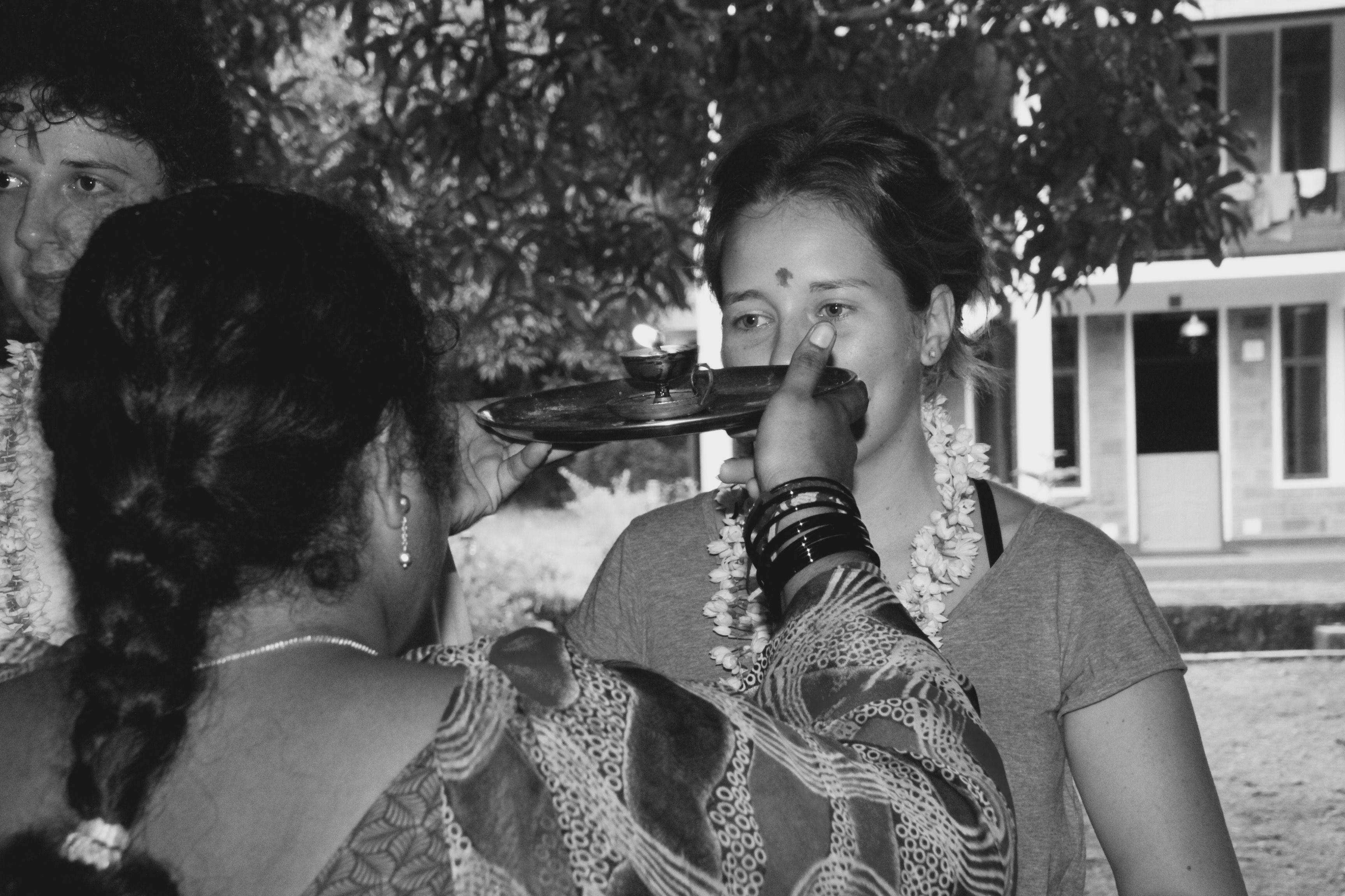 Welcome to India and my blog #pondicherry #womenempowerment #volunteerservice #travel #food #adventure verenagoestoindia