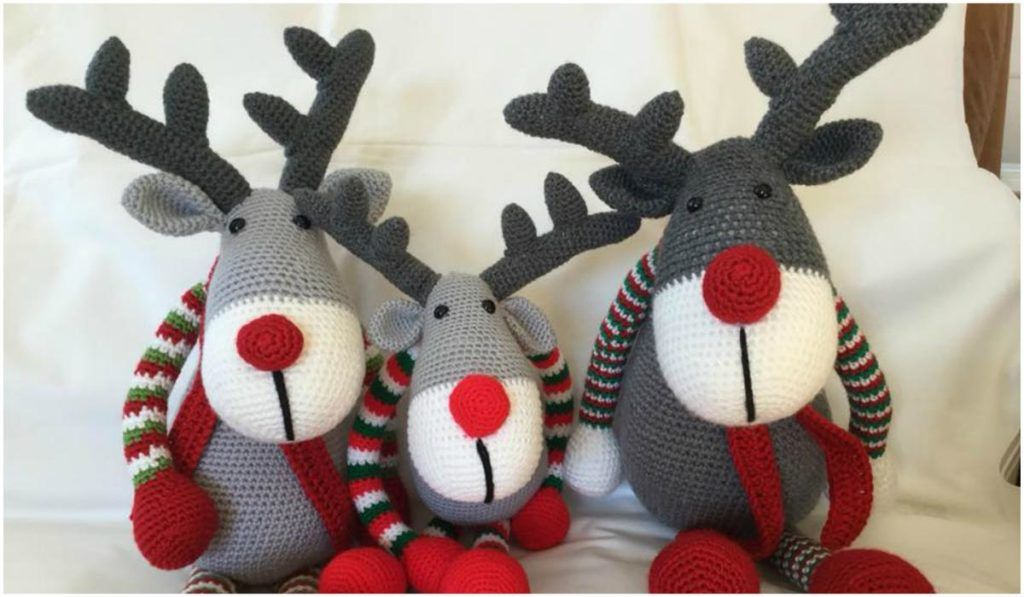 Didi the little reindeer amigurumi pattern - Amigurumipatterns.net | 597x1024