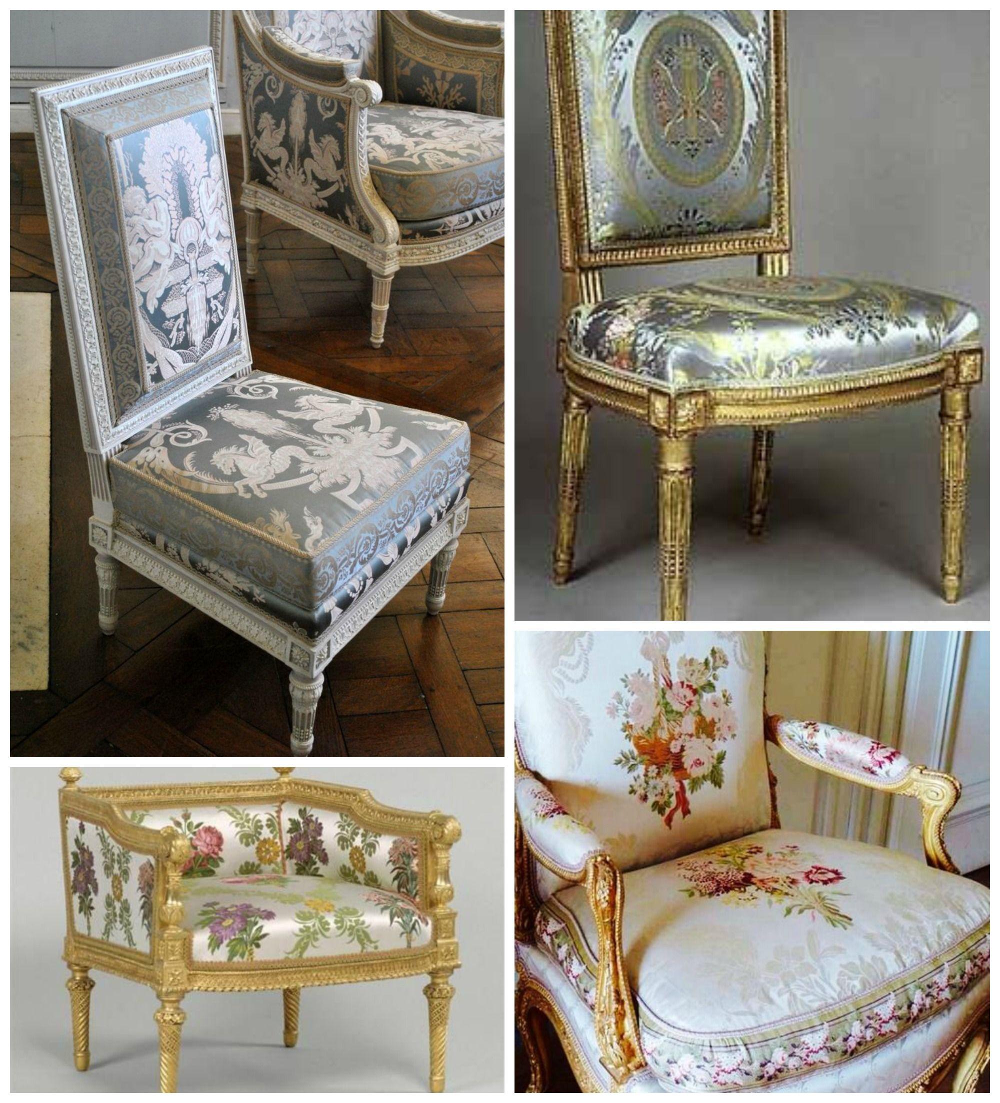 Sillas De Maria Antonieta Una Caracter Stica Del Mobiliario De  # Muebles Saint Michel