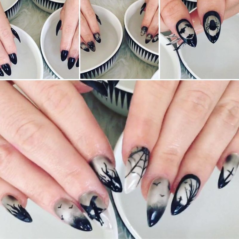 Watch what happens when they\'re dipped in warm water.   Cow nails ...
