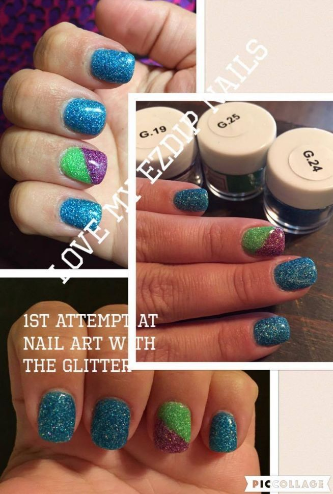 Perfect Ez Dip Gel Nails Photo - Nail Paint Design Ideas ...