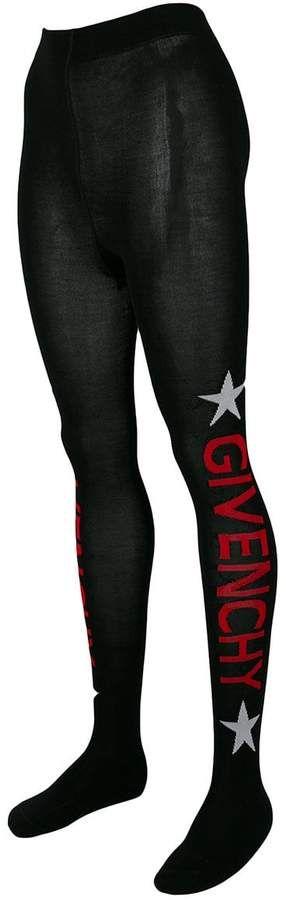 35bdbaf15a980 Givenchy logo print tights #logo#Givenchy#tights | Pantyhose ...