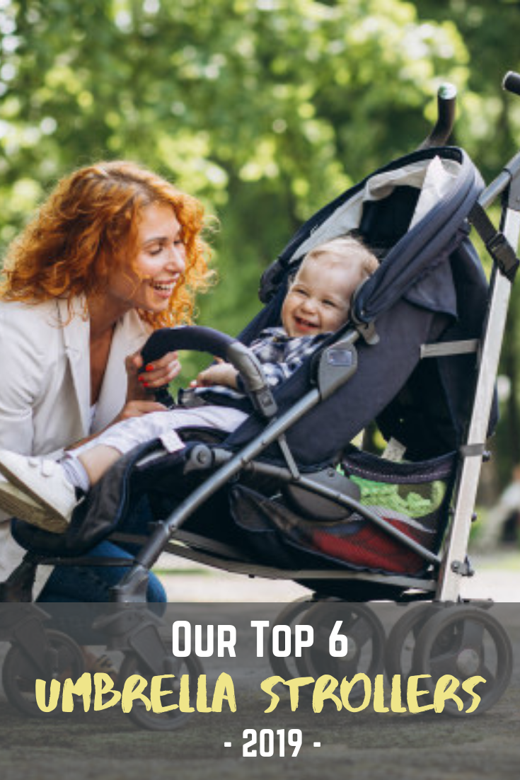 6 Best Umbrella Strollers of 2019 - MomCrib #bestumbrella Umbrella strollers are quickly overtaking lightweight strollers because they are less bulky and have fewer but excellent features.  Umbrella strollers are the perfect option for daily chores such as making short trips to the mall or evening walks. The best umbrella stroller needs to be lightweight and easy to fold.  #babyitemsneeded #babyitemsmusthave #momcrib #bestumbrella