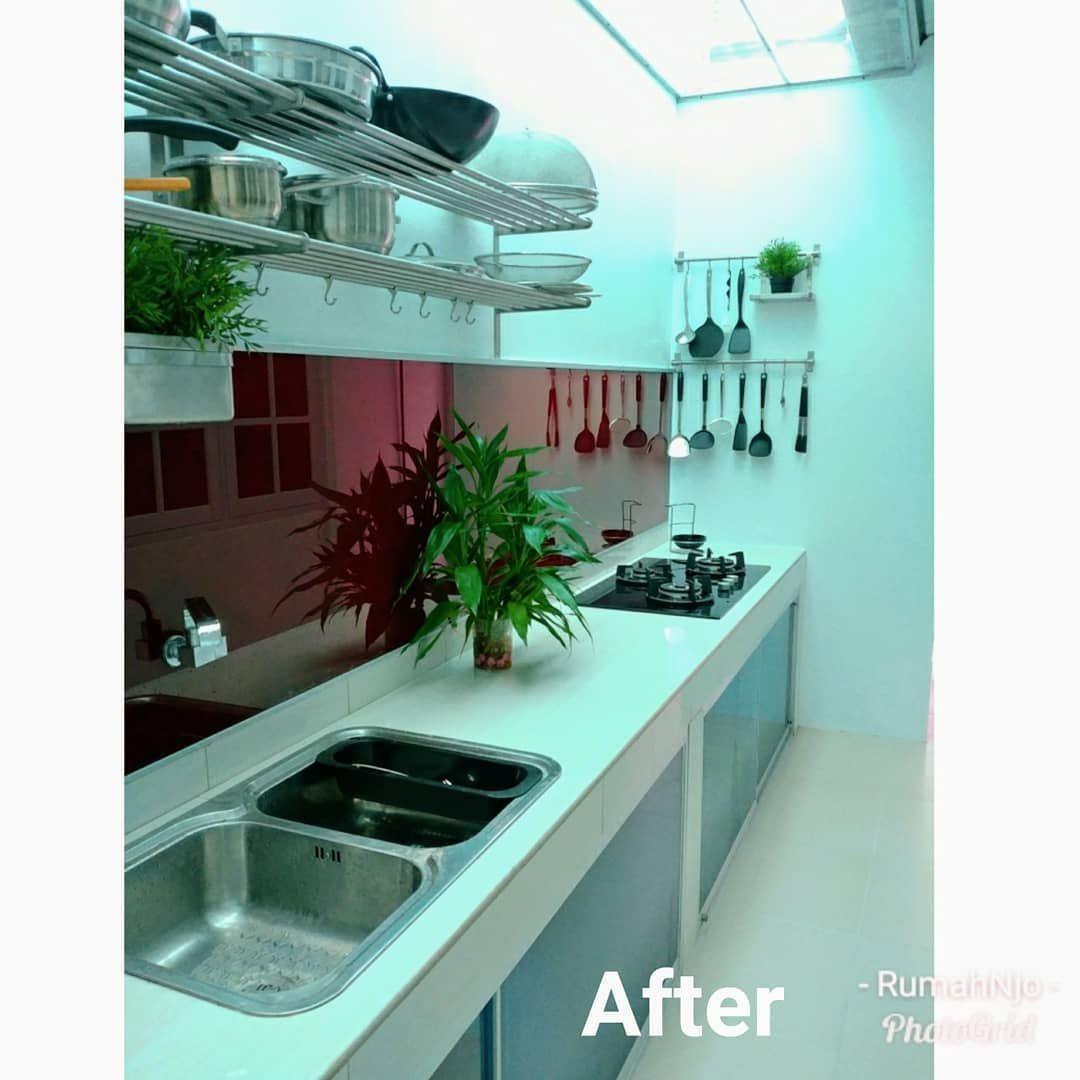Kitchen Set Jadi: Sedikit Sharing Tentang Dapur Mini Kami. Sebelum Reno