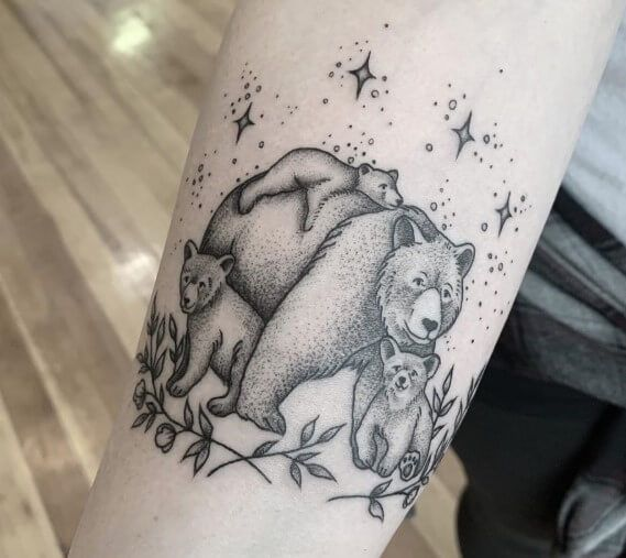 Photo of 15+ Best Bear Cub Tattoo Designs and Ideas