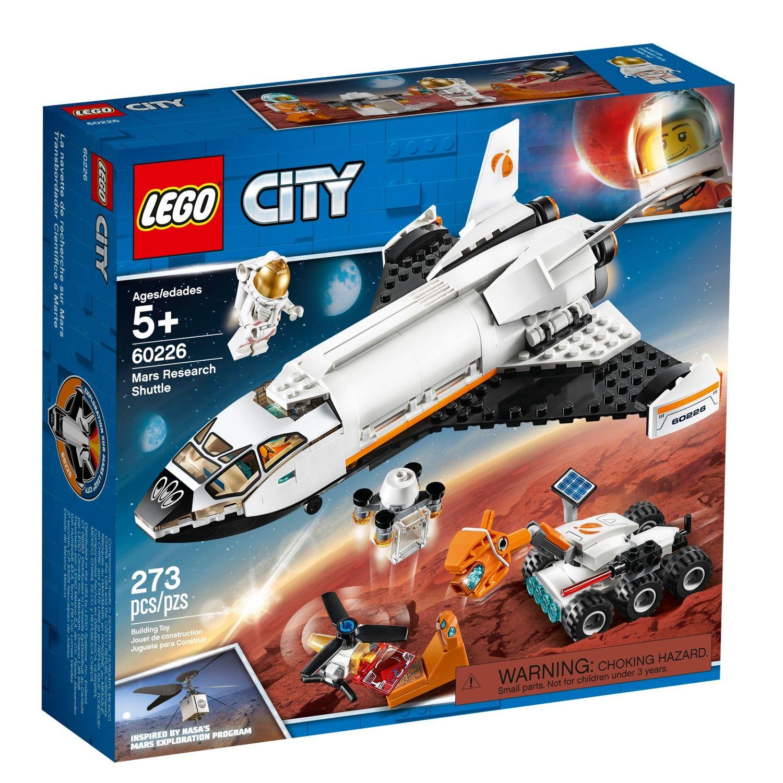 Lego City Space Port Mars Research Shuttle Set 60226 Lego City Space Lego City Lego