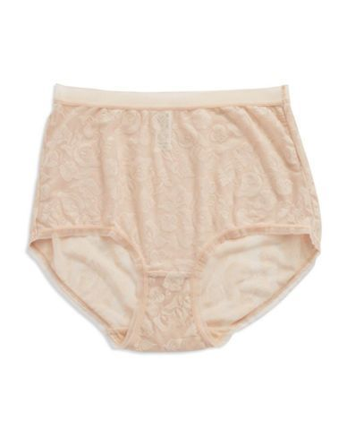 Wacoal Lace Briefs Women's Natural Nude Small