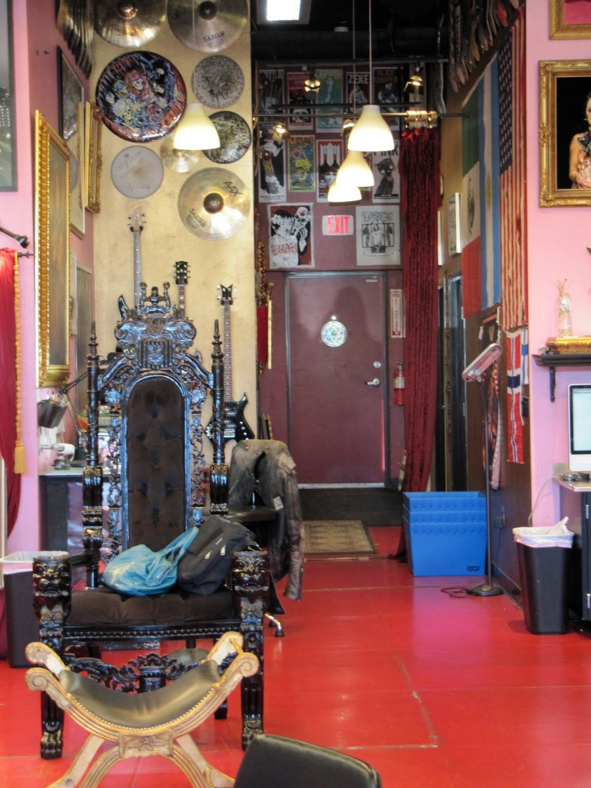 Inside kat von ds hollywood tattoo shop la ink thats