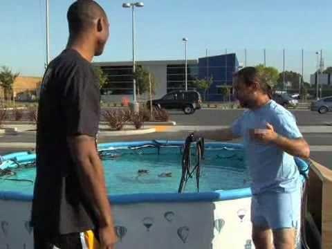 Kobe Bryant Jumps Over Pool W Snakes Black Mambas Kobe Bryant Kobe Bryant