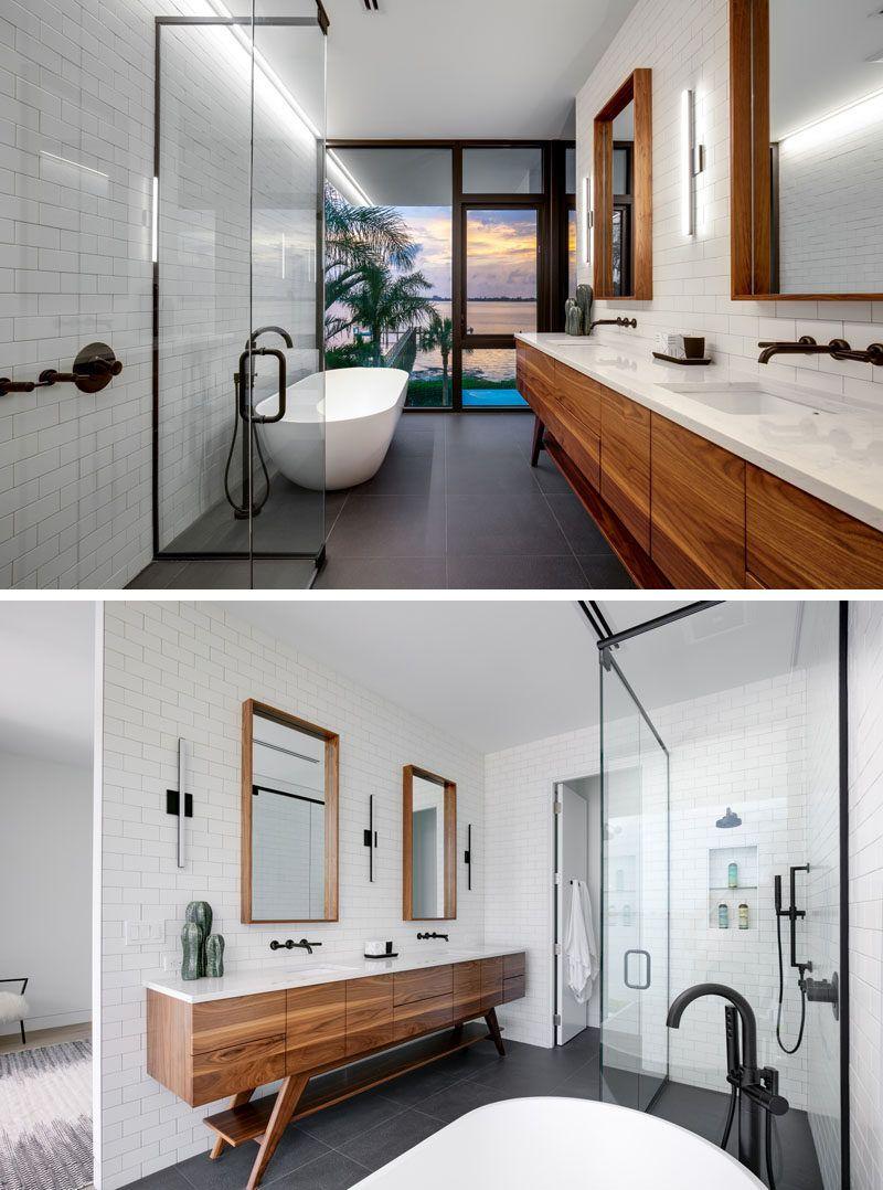 The Seathru House By Sweet Sparkman Architects Modern Bathroom Modern Bathroom Design Bathroom Inspiration Modern