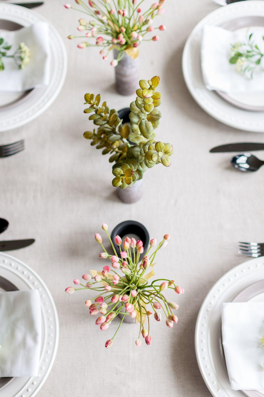 1001 tischdekoration ideen anleitungen zum selbermachen dekoration simple table