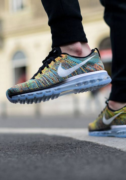 Alliance for Networking Visual Culture » Nike Flyknit Air Max Black