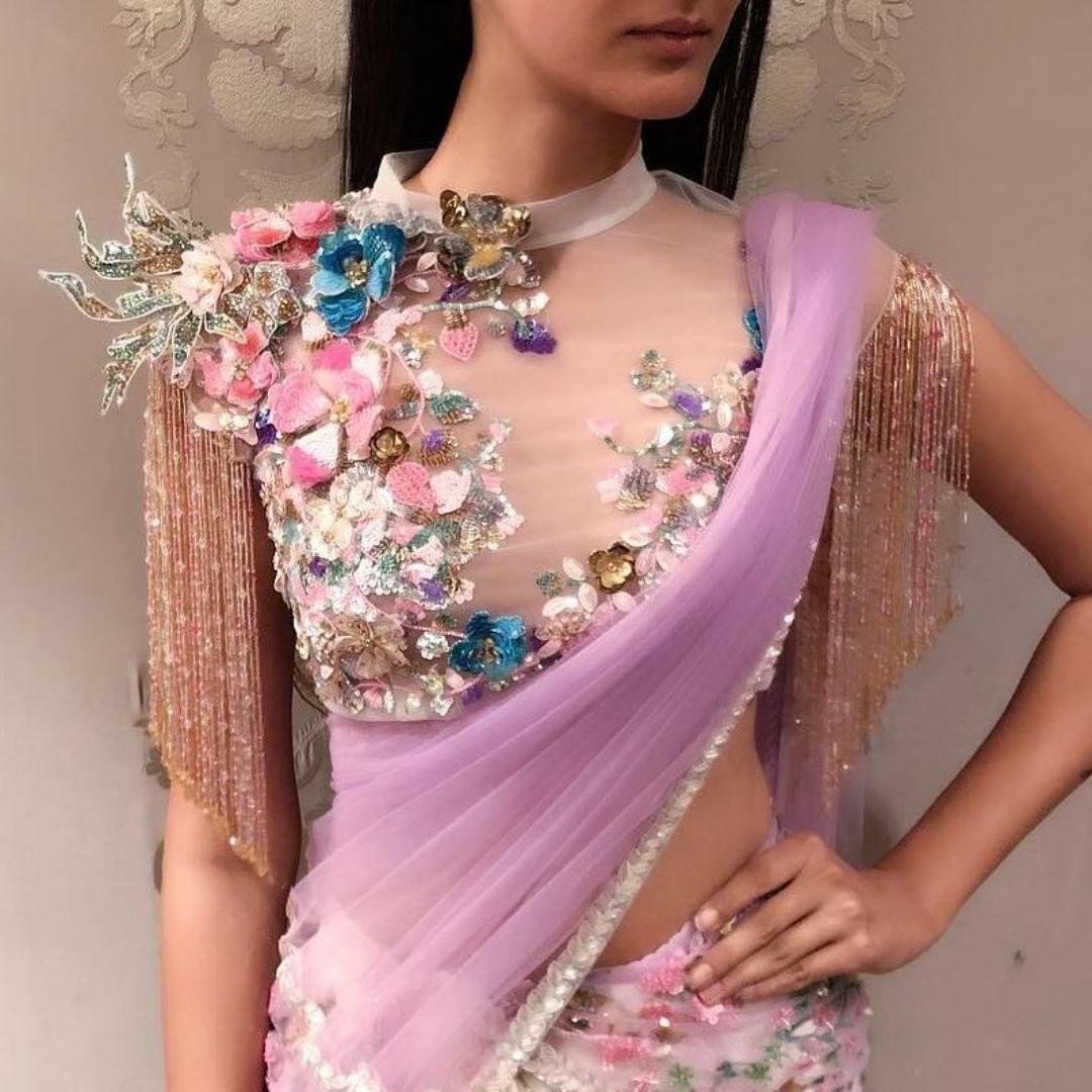 blouse design floral prints,blouse design floral,blouse