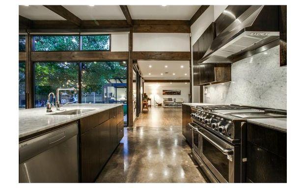 Mid century modern completely updated. Gorgeous kitchen