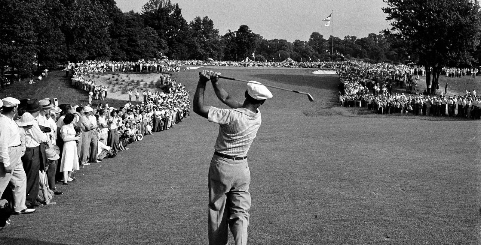 On this day, In 1950 Ben Hogan hits a 1 iron approach at Merion which turns out to be one of the most famous golf photographs of all time. http://www.golfhistorytoday.com/golf-events/2016/6/10/on-this-day-in-1950-ben-hogan-hits-a-1-iron-approach-at-merion-which-turns-out-to-be-one-of-the-most-famous-golf-photographs-of-all-time