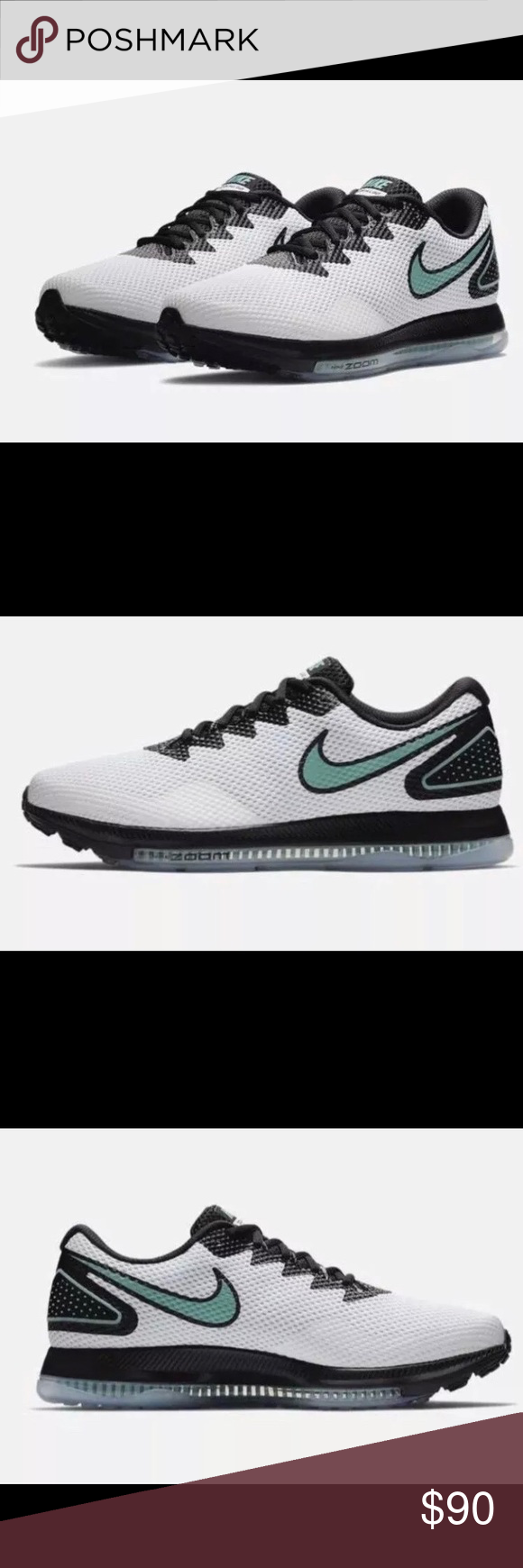 fa4860274c38 Nike Zoom All Out Low 2 White Jade Running Size 11 New Nike Zoom All Out  Low 2 Color White Jade and Black Men s Running Shoes   sneakers Size 11  Style ...