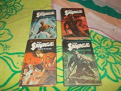 cool KENNETH ROBESON~DOC SAVAGE~VINTAGE 1975 HARDCOVER BOOK COLLECTION~5 BOOKS - For Sale
