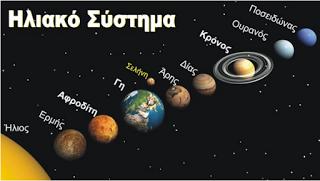 Conspiracy Feeds: Γιατί οι πλανήτες έχουν αρχαία ελληνικά ονόματα