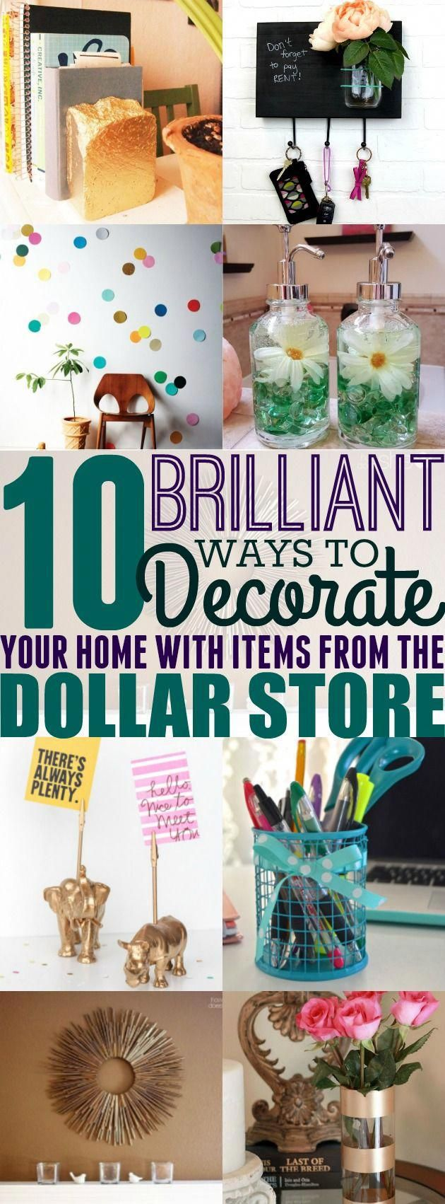 10 Cheap Dollar Store Decor Ideas That Will Bring Your Home To Life