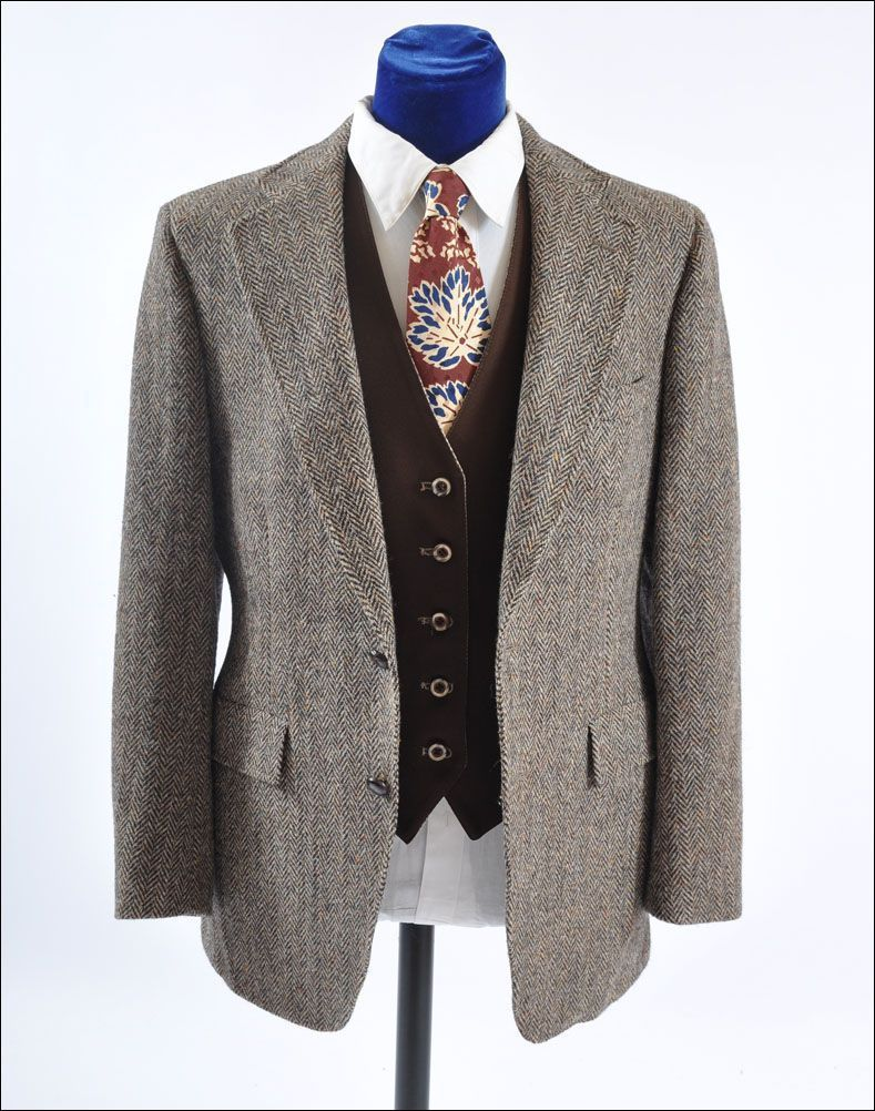 Men's Vintage Sport Back Norfolk Tweed Jacket - Sport Back 42-44 ...