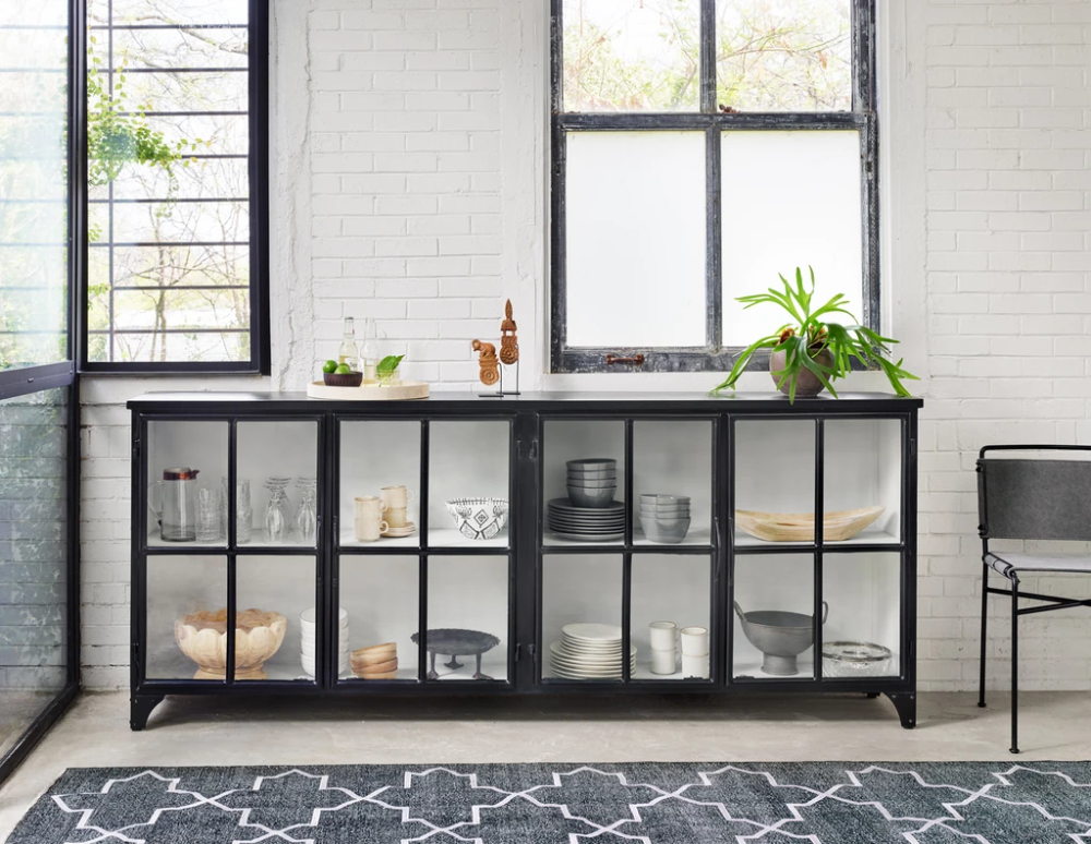 Camila Sideboard in Black - (Shipping Late April 2
