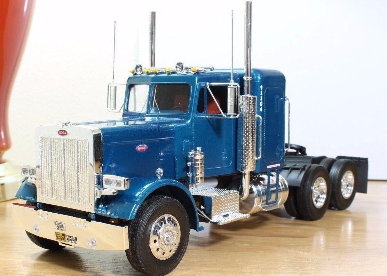 1 25 peterbilt semi truck pro built revell ebay