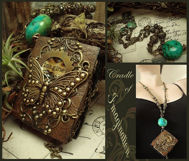 Cradle of Imagination by Luthien Thye Handmade books