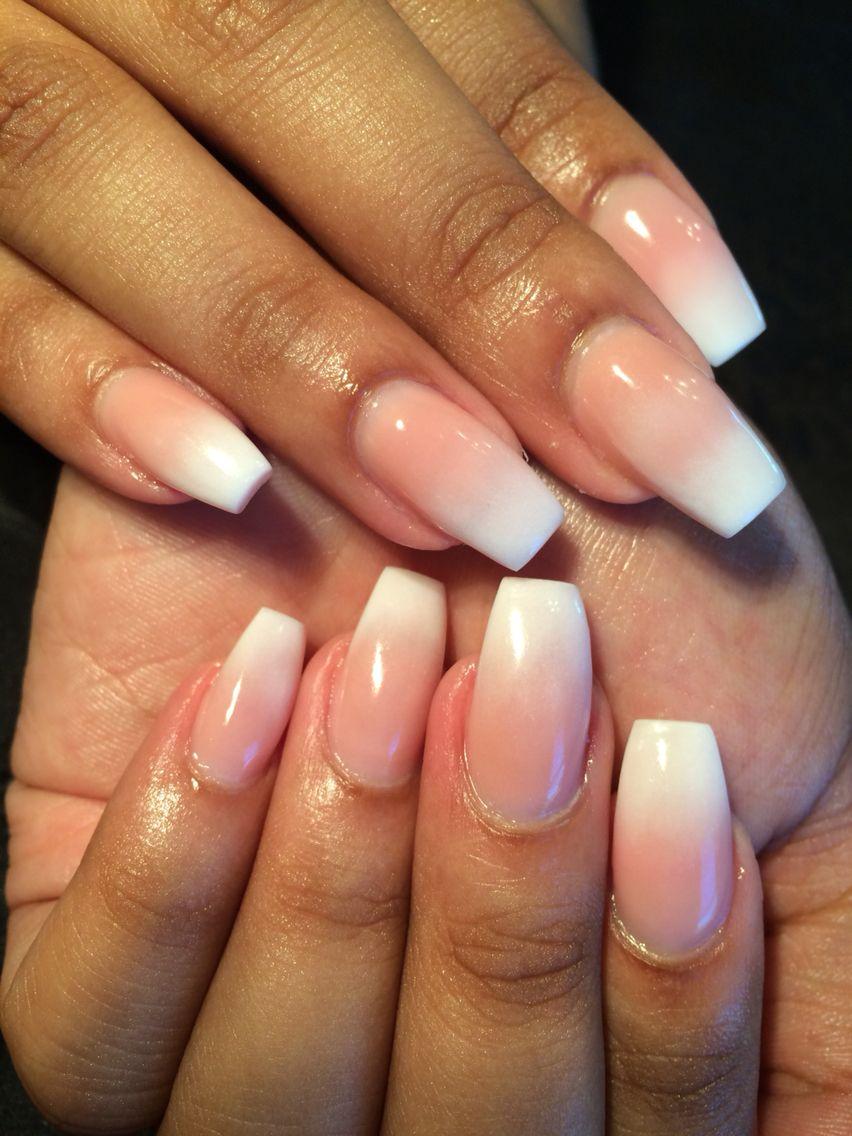 Ombré nails! -Wtfimkels | Wtfimkels Nails! | Pinterest | Makeup ...