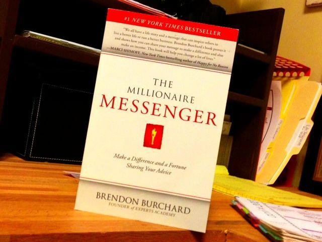 Millionaire Messenger Brendan Burchard Books Business Books Entrepreneur Books