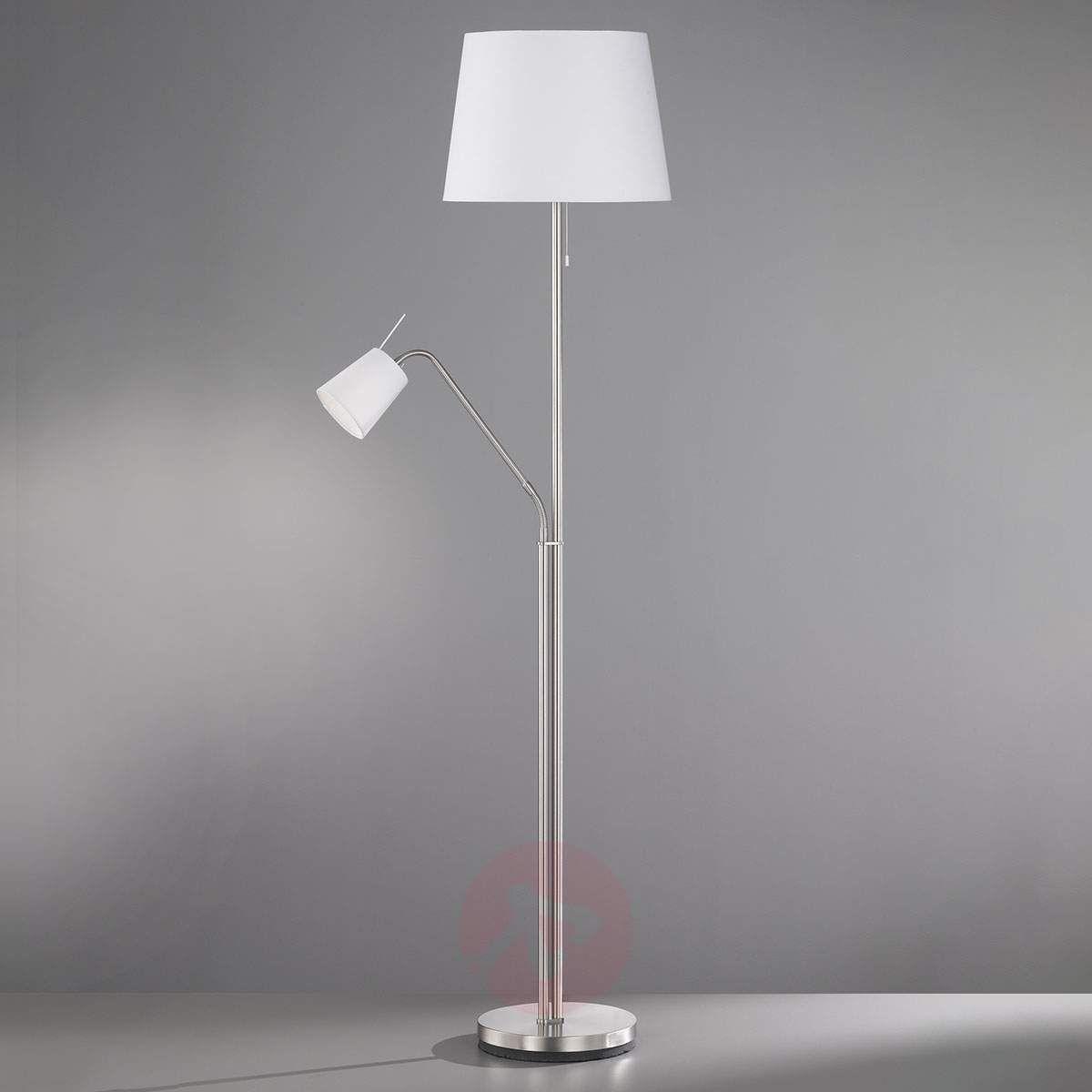 Lampa Stojąca Layer Lampka Do Czytania Biała Lampy