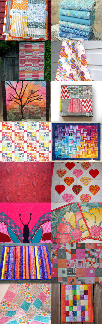 Oh the quilts you can think! by Martina Croom on Etsy--Pinned with TreasuryPin.com