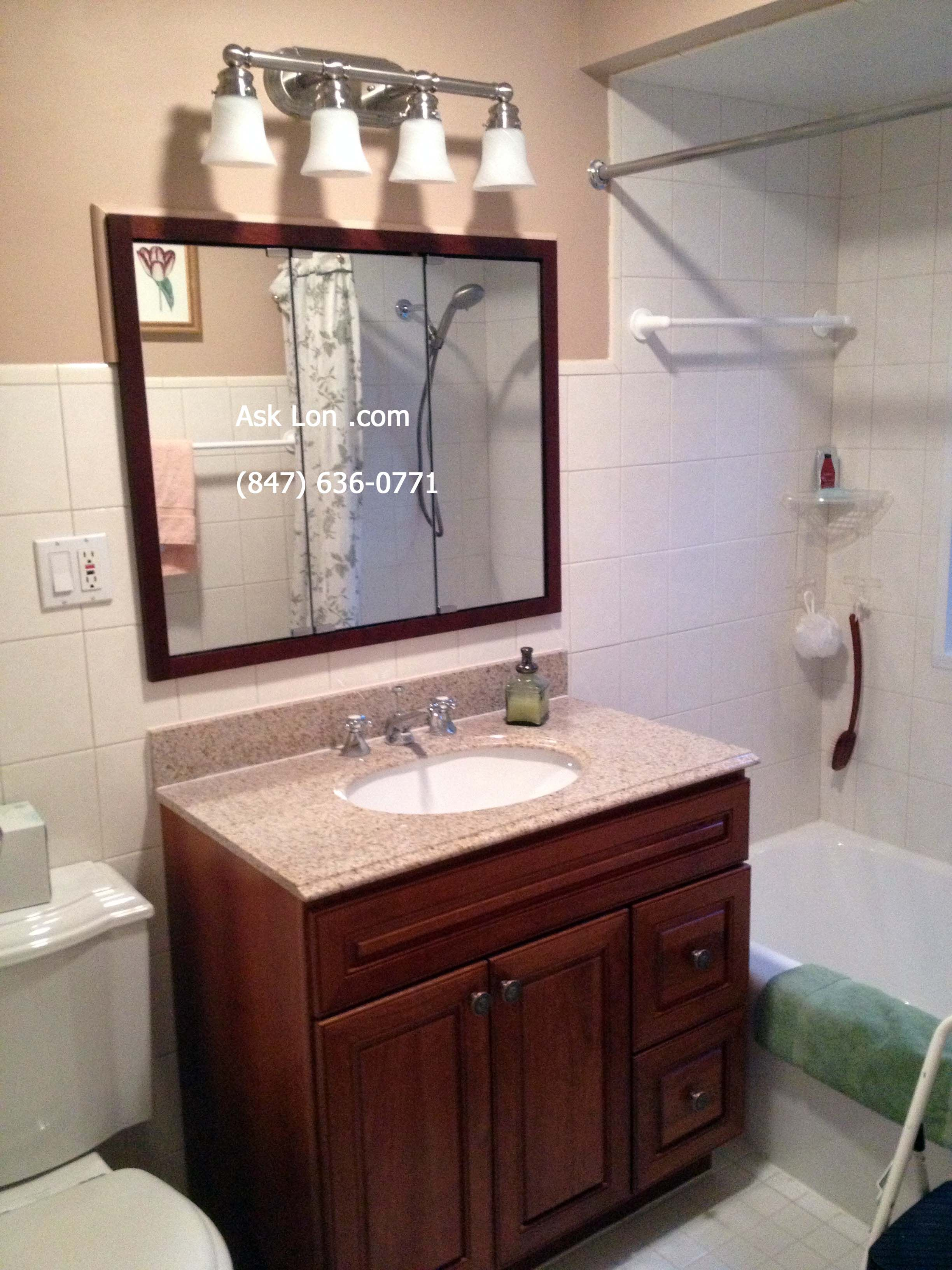 vessel sinks mirror bathroom heavenly vanity paint with benjamin vanities stanton blue pin sink moore remodeled