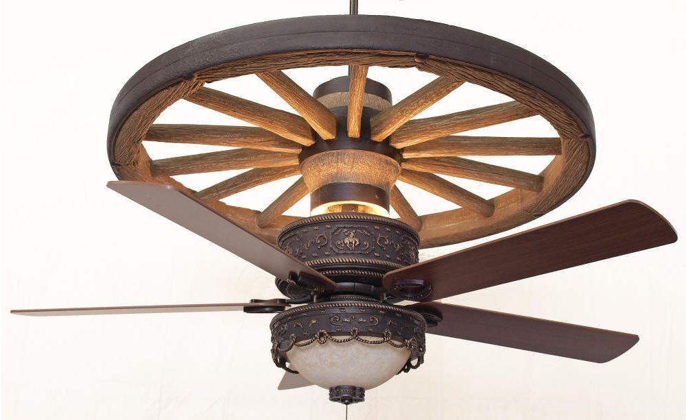 Copper Canyon Cheyenne Wagon Wheel Ceiling Fan Ceiling Fan Wagon Wheel Chandelier Wagon Wheel