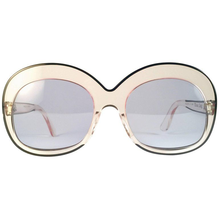 Oversized 1960's Clear Rare Pierre Marly Vintage Sourcilla New j4A5LR