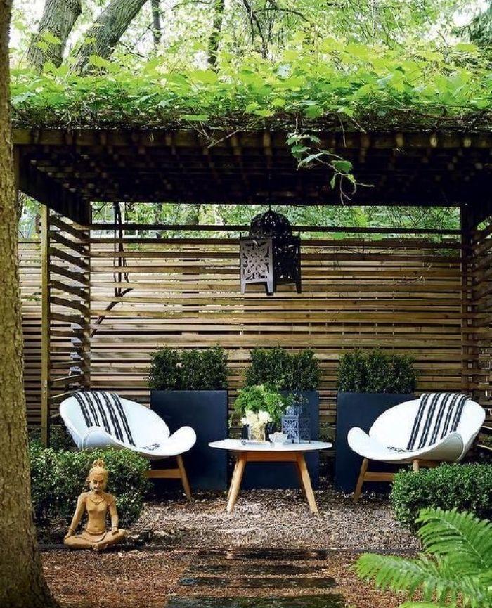 jardin minimaliste