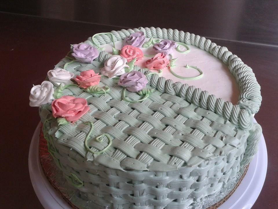 Pastel Doble Vista Double Sided Cake: Merengue Italiano