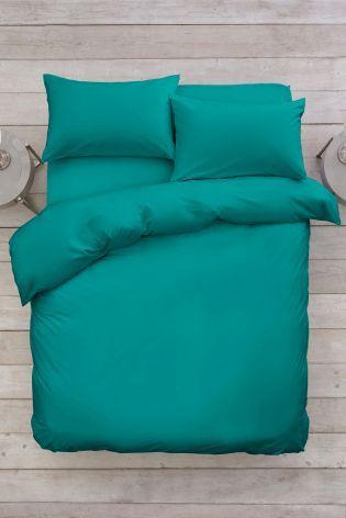 Dark Teal Easy Care Bed Set