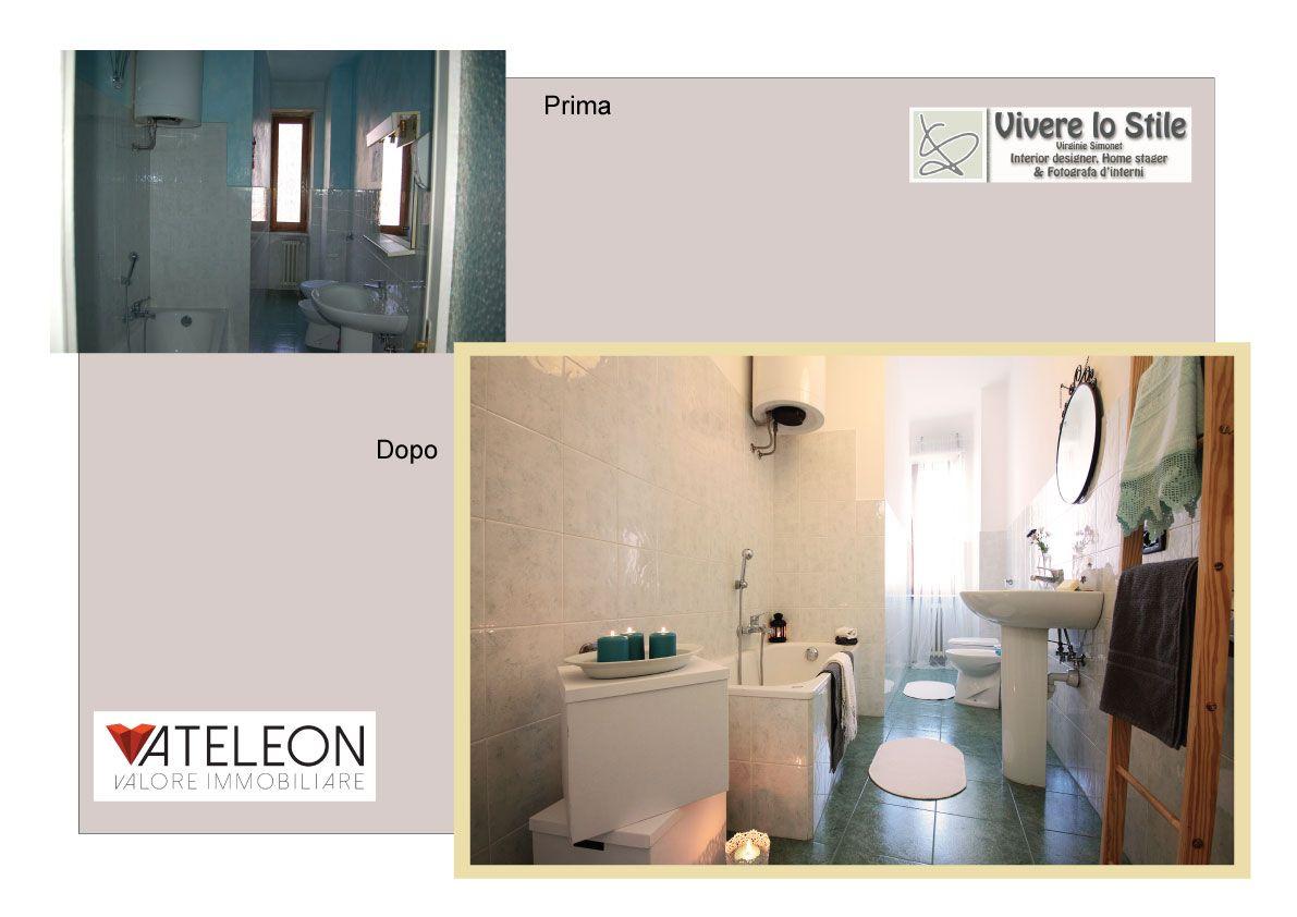 Torino-Santa Rita, con Ateleon Valorizzazione Immobiliare, bagno