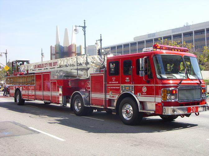 Los Angeles Fire Dept Ladder Truck Jpm Entertainment