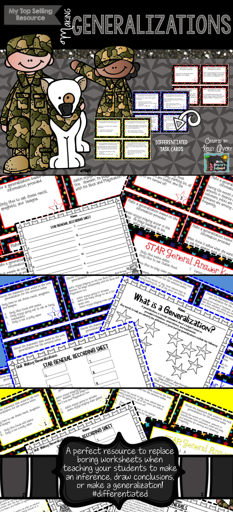 Worksheets Making Generalizations Worksheets making inferences and generalizing for reading comprehension task or generalizations teaching students how to generalize in does not have to