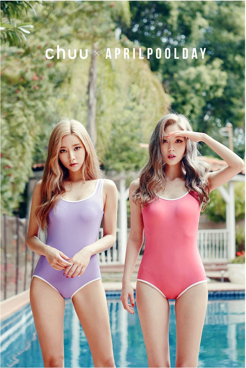 Chuu - Chuu  April Pool Day Swimsuit  Rashguard -5109