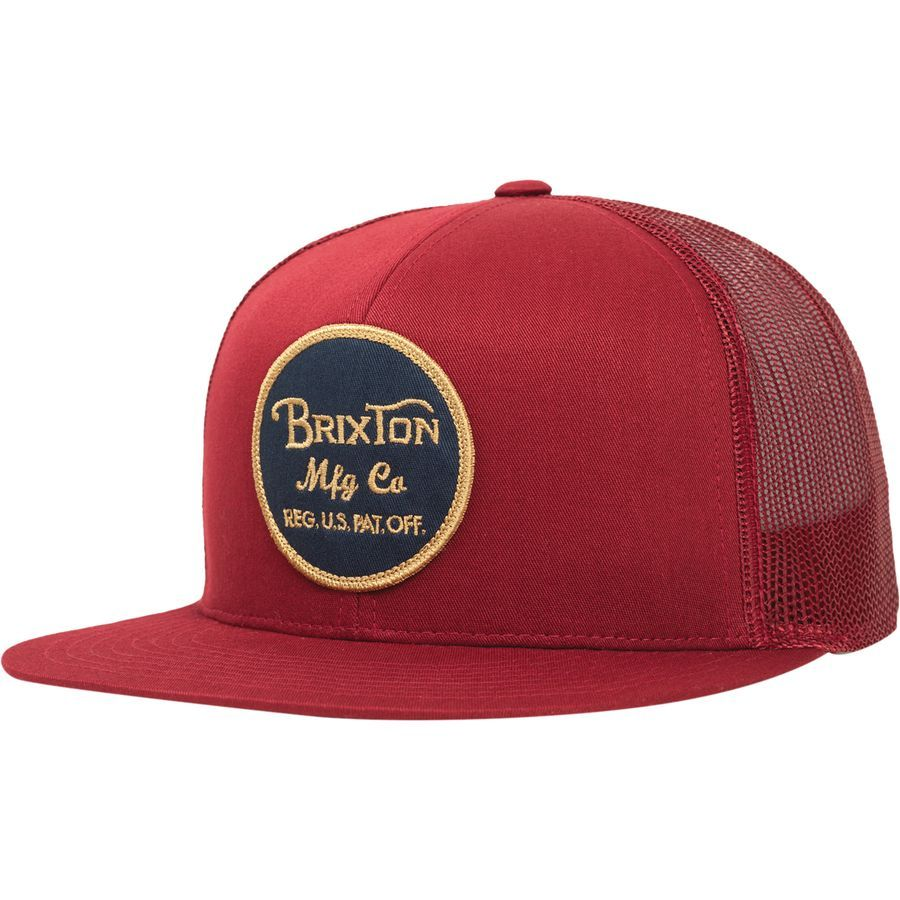 df06bbc2 Brixton Wheeler Mesh Cap | For Rich | Mesh cap, Hats, Custom ...