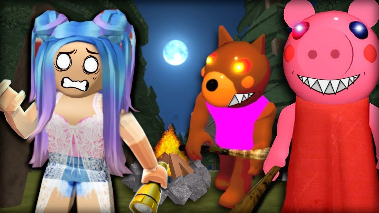 Roblox Piggy Forest Update Piggy And Doggy Are Trying To Get Me Roblox Piggy Doggy