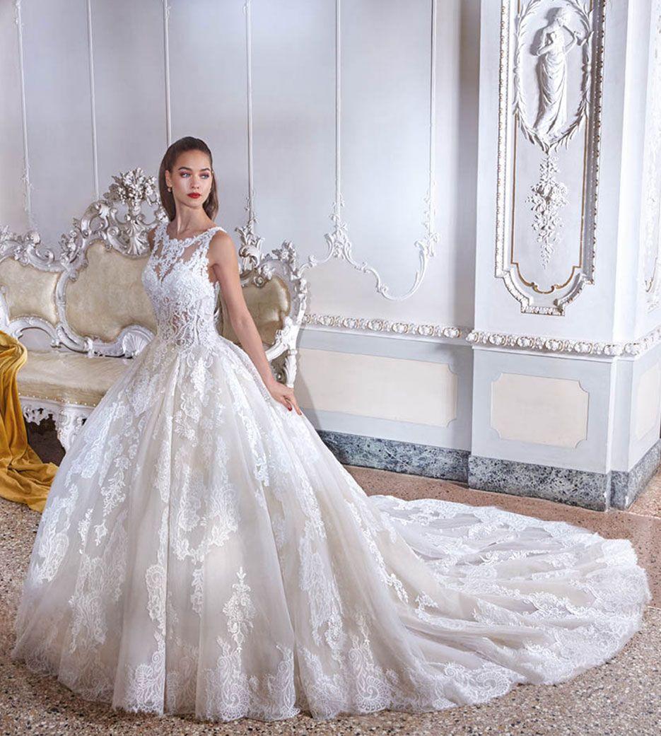 Platinum Wedding Gown: Wedding Dress Style DP390