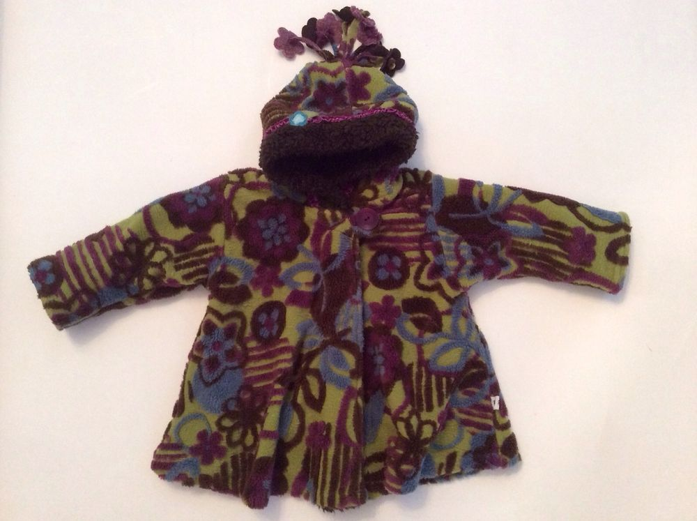ad6f89588ee54 Corky Coat 3T Girls Purple Brown Lime Turquoise Fleece Dressy Warm Boutique  Fashion Boutique, Boy