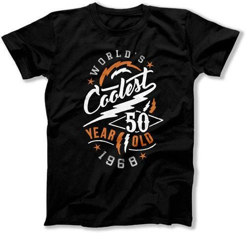 50th Birthday Gifts For Women Gift Ideas Him T Shirt Worlds Coolest 50 Year Old 1