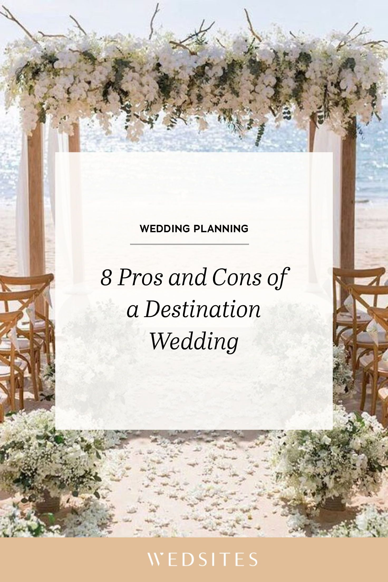 8 Pros and Cons of Destination Weddings