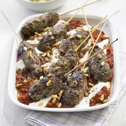 African Cuisine - Moroccan Kofte with Spicy Tomato Sauce